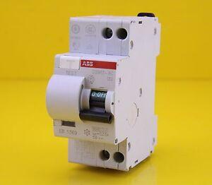 ABB DS951-C10 10A amp AC RCBO 2 Pole 230V 6kA Circuit Breaker MCB RCD electrical