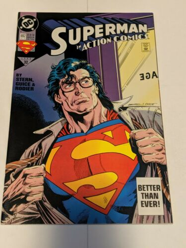 Action Comics #667 July 1991 DC Comics Superman