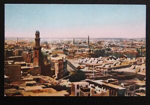 Vintage-Colour-Postcard-GENERAL-VIEW-OF-CAIRO-Unused-in-VGC