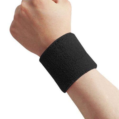 Details about  /1 Paar Unisex Sports Cotton Armband Wrist Band Schweißband Schweißband