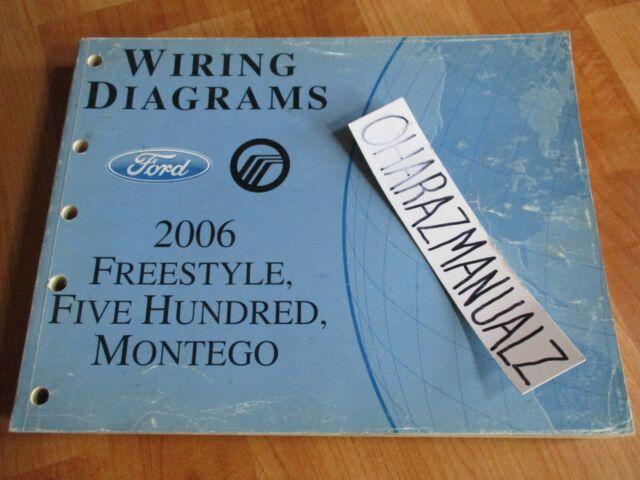 2006 Ford Freestyle 500 Mercury Montego Wiring Diagrams