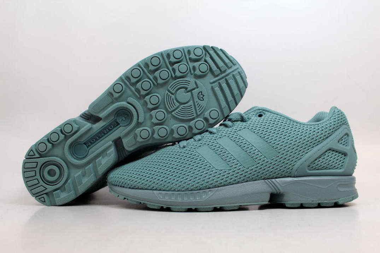 adidas zx flux Vert   chaussures 8.5 EU 42 & 2/3   bnwt  P/C bb2762