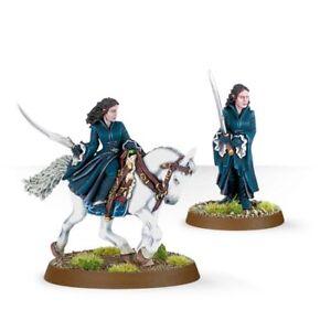Neuf Le Seigneur Des Anneaux Warhammer Arwen Pied Et Monté Fondcombe Elf O-afficher Le Titre D'origine Un Style Actuel