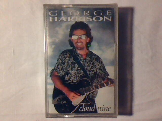 GEORGE HARRISON Cloud nine mc cassette k7 ITALY BEATLES SIGILLATA SEALED!!!