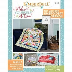 Kimberbell-Make-Yourself-at-Home-Machine-Embroidery-CD-and-Book-KD805