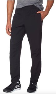 NWT-Kirkland-Signature-Men-s-Active-Woven-Pant-Black-Blue-FREE-SHIPPING