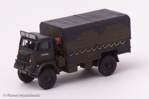 QLD001 Bedford QLD British Army Fire Service 1941-1945,Oxford 1:76,NEU 8//15/&