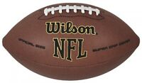 Wilson Nfl Super Grip Official Football, New, Free Shipping on sale