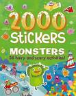 2000 Stickers Monsters: 36 Hairy and Scary Activities! by Parragon Books Ltd (Paperback / softback, 2016)
