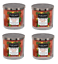 4 Pack Tuscany Candle 14 oz Kitchen Spice Premium Satin Wax soy blend