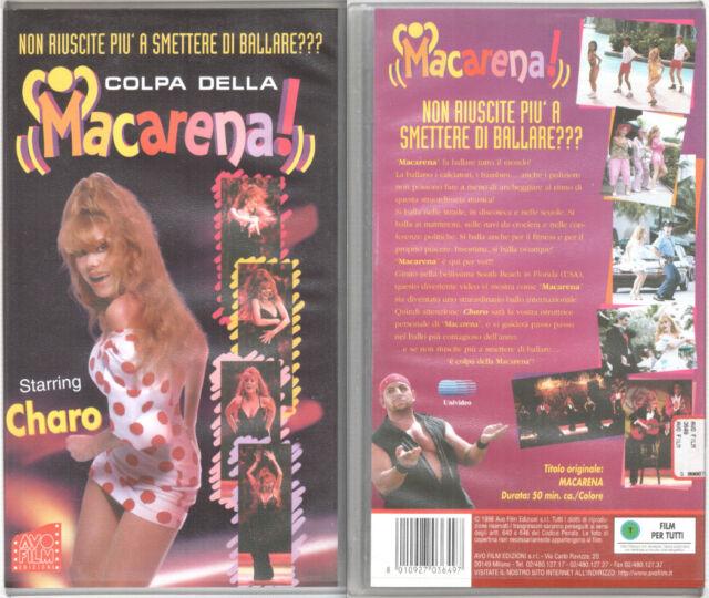 COLPA DELLA MACARENA! DANCE (VHS) STARRING CHARO - 1996 - CON FASCICOLO
