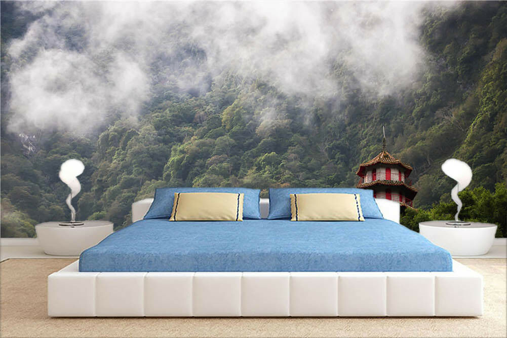 Deep In The Clouds 3D Full Wall Mural Photo Wallpaper Printing Home Kids Decor