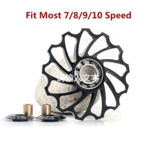 New Bicycle Rear Derailleur Jockey Wheel Bike Guide Roller Pulley 11//13//15T