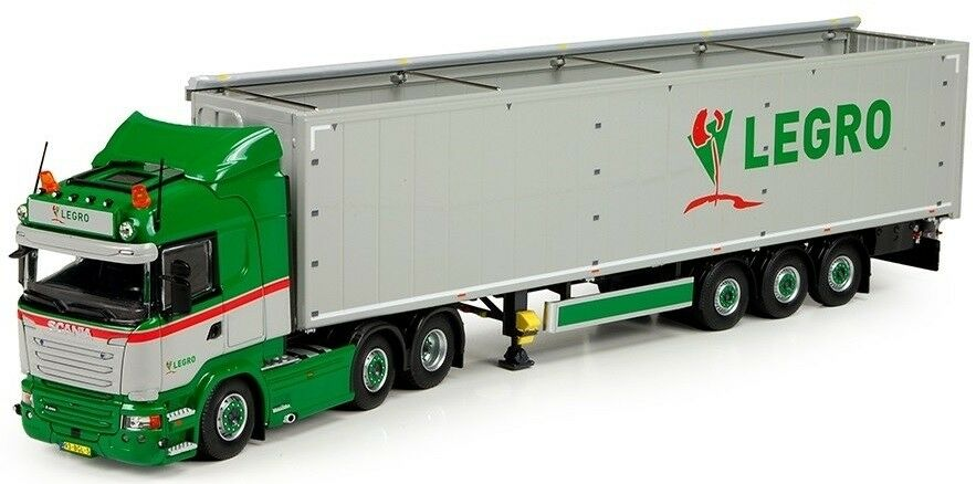 promociones emocionantes TEK71333 - Camion Camion Camion 6x2 SCANIA R13 HIGHLINE et remorque Cochego Floor 3 essieux aux  mejor moda