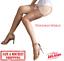 Indexbild 1 - Non-Stretch-Stockings-Seamless-GLOSSY-COFFEE-10-Denier-Medium-UK