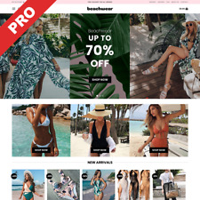 Swim Amp Beach Wear Automated Dropshipping Store Website Business For Sale