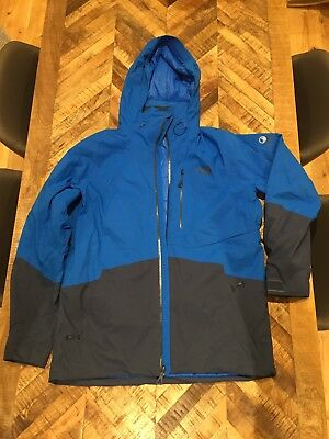 f929f4439 North Face Mens Sickline Ski / Snowboard Jacket - Large (Blue)   eBay