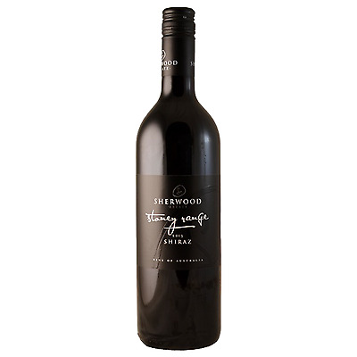 Sherwood Estate Stoney Range Shiraz 2013 case of 6 Dry Red Wine 750mL