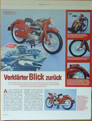 Moto Nsu Superlux In 1-10 Di Schuco... Un Modello Relazione-n Modellbericht It-it Mostra Il Titolo Originale