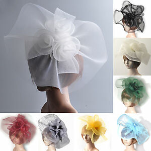 lady-women-hair-accessory-clip-hat-large-handmade-veil-fascinator-wedding-party