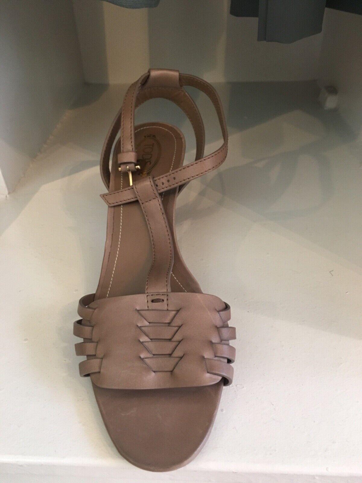 TOD`S Sandalette in Gr. Gr. Gr. 39 in Taupe 6cc869