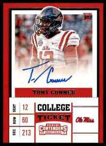 2017-PANINI-CONTENDERS-TONY-CONNER-RC-AUTO-OLE-MISS-REBELS-286