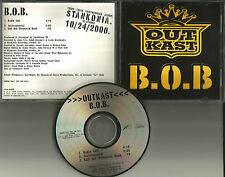 OUTKAST B.O.B. w/ RARE INSTRUMENTAL & RADIO EDIT PROMO DJ CD Single 2000 USA bob