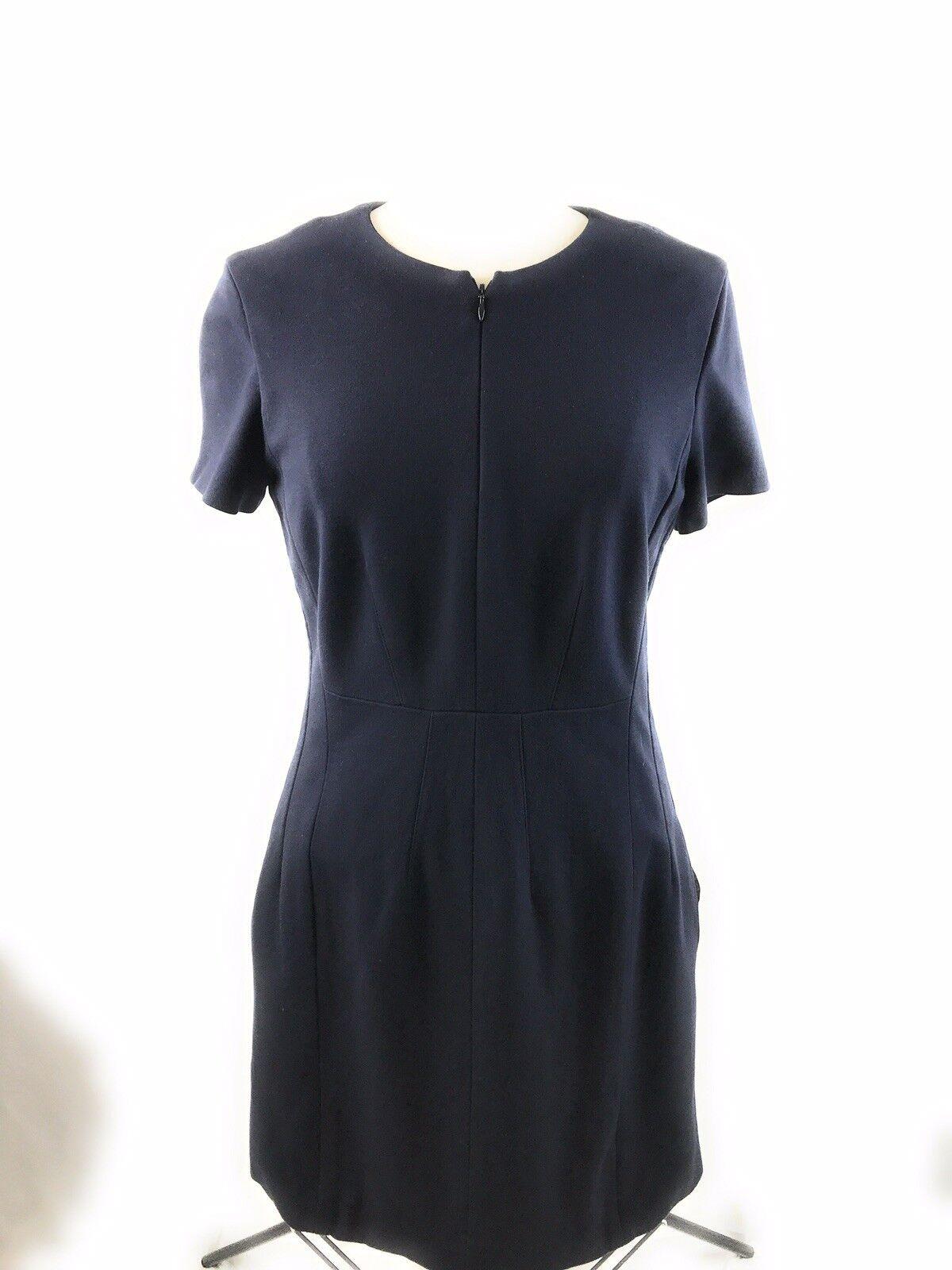 Diane Von Furstenberg Negro Agatha Knit satisfaciendo Cocherera Vestido Talla  12  venta con descuento