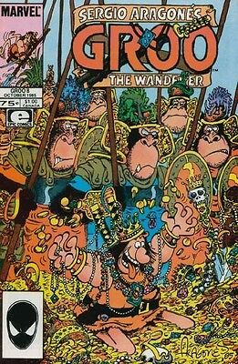 GROO THE WANDERER #6 VERY FINE 1985 EPIC COMICS SERGIO ARAGONES