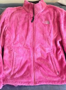 Face Taille XL Polyester 100 Veste Occasion Rose North Femme qCznEwv