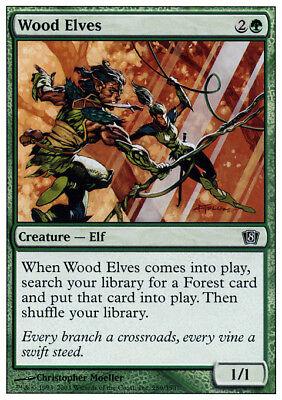 4x Wood Elves MTG Exodus NM Magic Regular