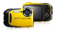 Fujifilm Finepix X Series Xp80 16.4mp Waterproof Digital Camera - Yellow