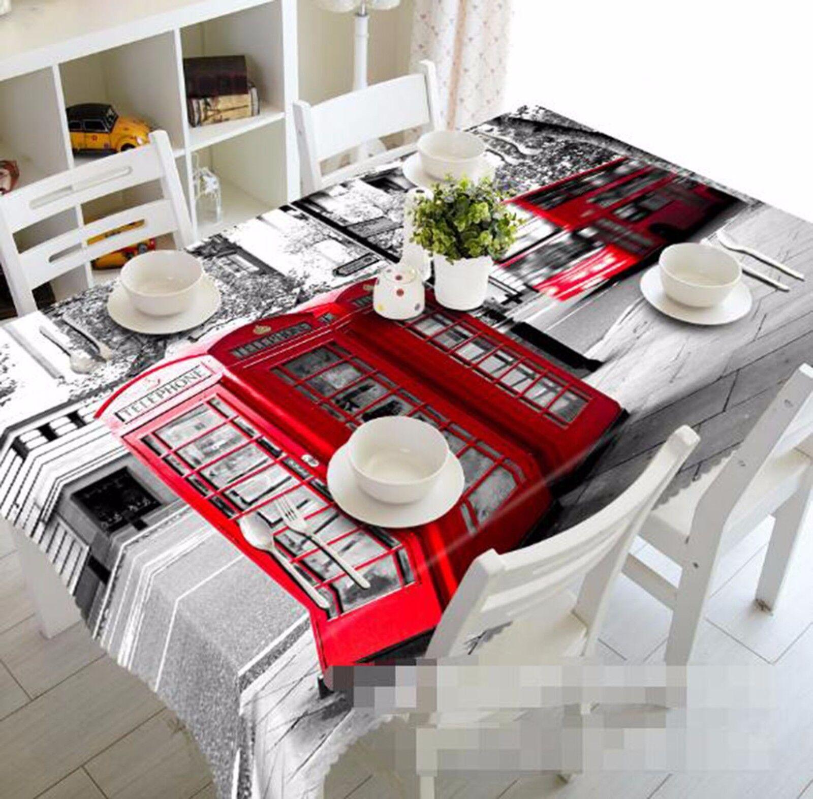 3D Street 58 Tablecloth Table Cover Cloth Birthday Party AJ WALLPAPER UK Lemon