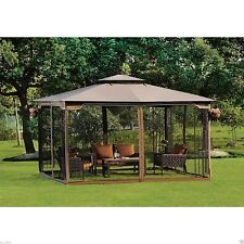 Outdoor Garden Gazebo Pergola Patio Furniture Metal Frame Canopy Decor Wedding