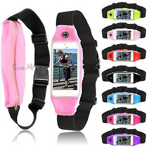 Waterproof Running Belt Bum Waist Pouch Fanny Pack Camping Sport Hiking Zip Bag