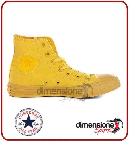 8 5 42 Converse Tg Scarpe Gialle All 152700c Alte Giallo Tela Us Star Monochrome SfqwSHB4