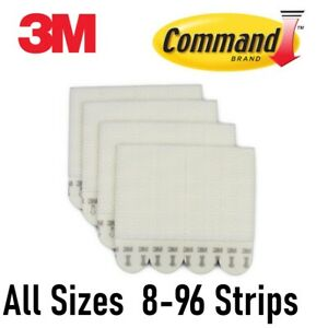 3M-Command-Picture-Hanging-Strips-SMALL-MEDIUM-LARGE-Bulk-8-16-24-32-64-96-pc
