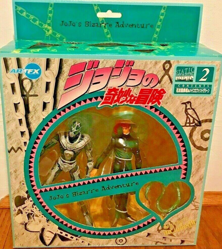 JoJo's Bizarre Adventure No.2 Kakyoin Noriaki & Hierophant Grün Action Set