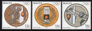 MALTA MNH 2004 Olympic Games Set