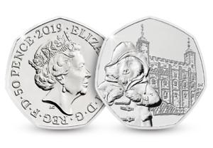2019-UK-Paddington-at-the-Tower-of-London-50p-Coin