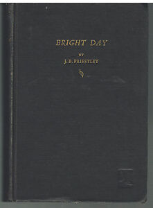 Bright-Day-by-J-B-Priestley-1946-1st-Ed-Vintage-Book