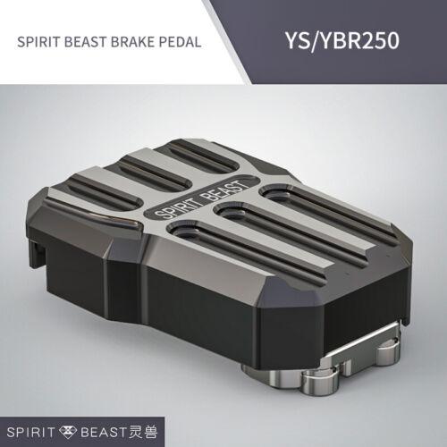 Spirit Beast Motorcycle Foot Rests Pedal for Honda Benelli Yamaha YS250 YBR250