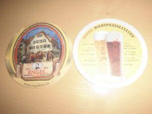 1 Bierdeckel Seit 1877 Engel Bräu - Dürrwangen, Deutschland - 1 Bierdeckel Seit 1877 Engel Bräu - Dürrwangen, Deutschland
