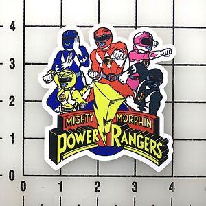 Power-Rangers-4-034-Large-Autocollant-Vinyle-Autocollant-Bogo