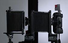 "Adapterplatte für  Kameras mit T-2 Anschluß an Sinar/Horseman 4x5"" Rückteil"