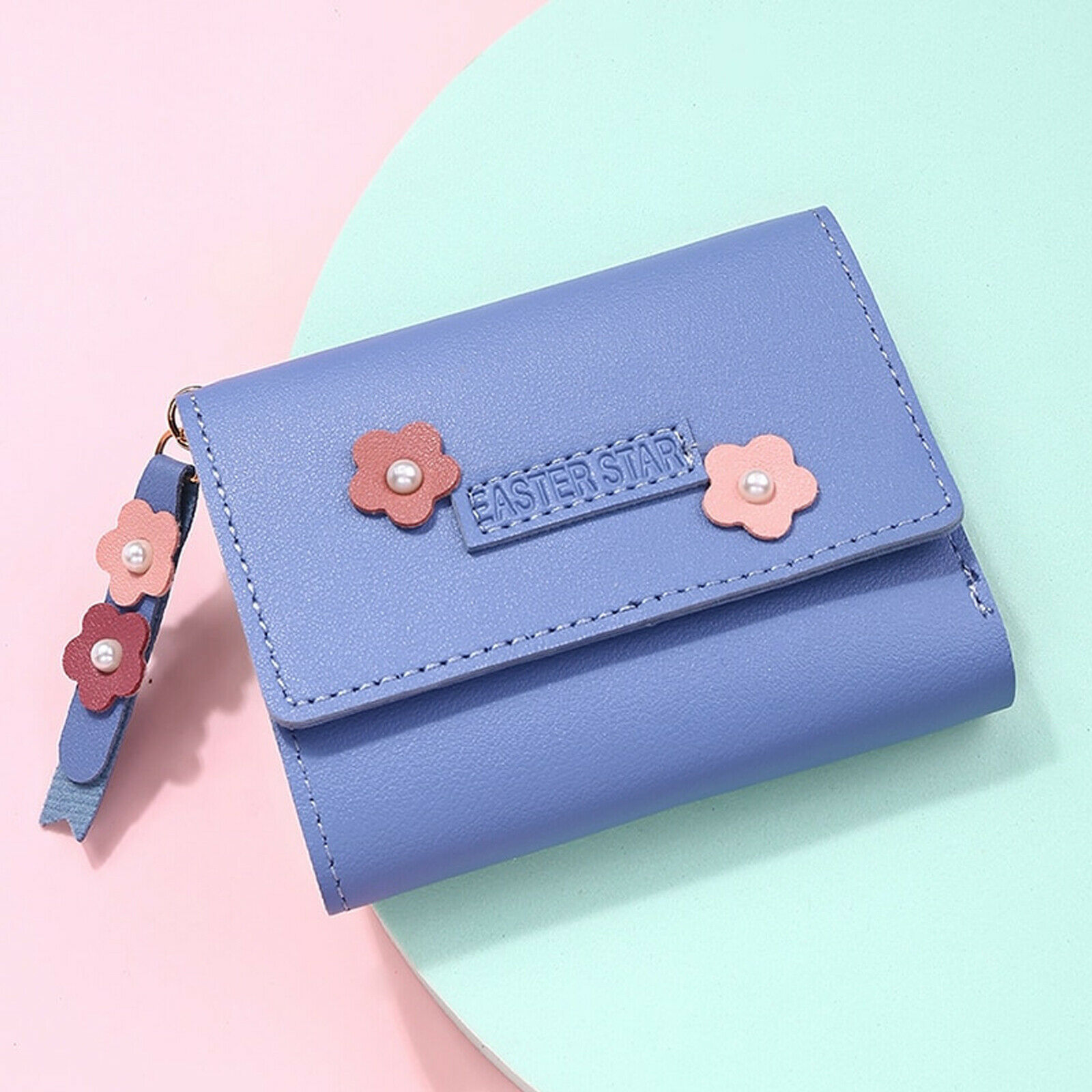 2021 New Fashion Women Wallets Leather Hasp Coin Mini Purse Credit Card Holder