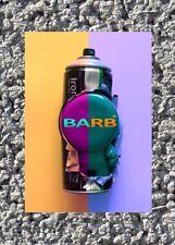 Barb ADESIVO RARO (70 x 100 mm) Graffiti schiaffo urbano arte vinile arte di strada 5 *