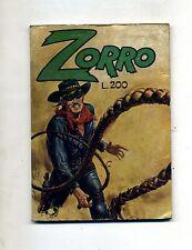 LA FRUSTA DI ZORRO # Anno VII N.5 Marzo 1975 # Cerretti Editore