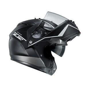 NEU-HJC-Helm-IS-MAX-II-2-Mine-schwarz-matt-L-59-60-Klapphelm-Sonnenblende