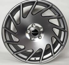 "18"" MAGNUS ALLOY WHEELS ET45 5X112 8J 9J MERCEDES VW GOLF AUDI SEAT VOSSEN BBS"